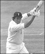 Bob Woolmer driving for England