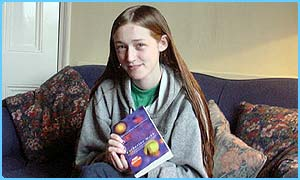 Teen author Catherine Webb has had her first book published