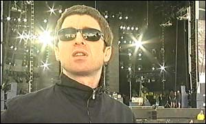 Oasis' Noel Gallagher at Finsbury Park