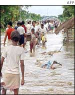 Assam villagers cope with floods
