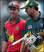 Goodwin and Australia's Ricky Ponting