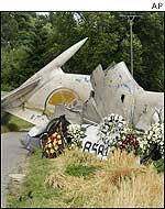 TU-154 crash site