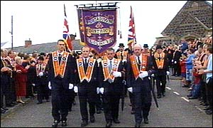 Portadown Orange Order wanted a peaceful protest