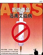 China Aids poster