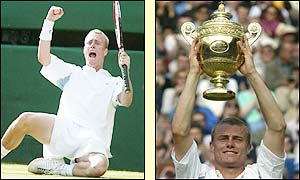 Hewiit lifts the Wimbledon trophy