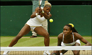 The Williams sisters' execution was occasionally off-key but they prevailed nonetheless
