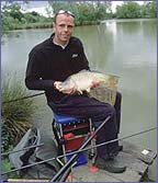 Dean Macey enjoying his fishing