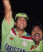Wasim: Pakistan hero in 1992 at the World Cup