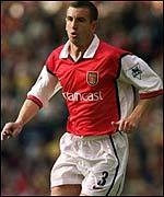 Former Arsenal left-back Nigel Winterburn