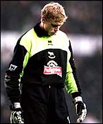 Derby keeper Mart Poom