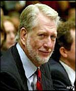 Bernie Ebbers, former chief executive of WorldCom