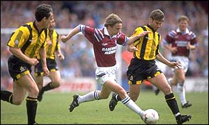 Kevin Keen during his first spell with the Hammers