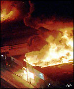 LA on fire, April 1992
