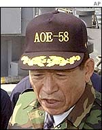 Former defence minister Kim Dong-shin