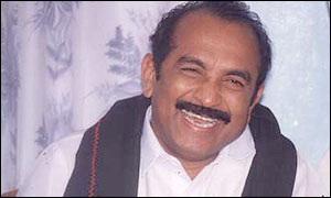 Vaiko, leader of the MDMK party
