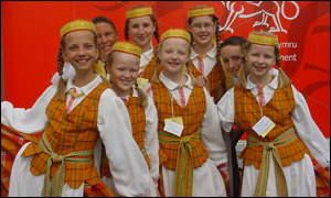 Easten European folk group