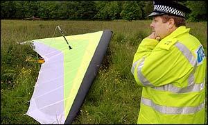 BBC NEWS   UK   Scotland   Man dies in hang-glider accident