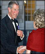 Prince Charles with Lily Safra
