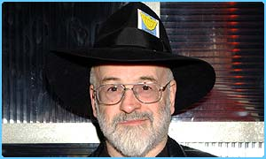 Best-selling author Terry Pratchett