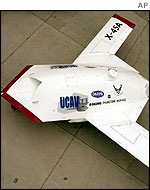 The X-45 prototype will fly in the autumn