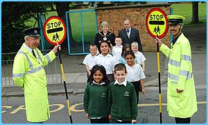 Lollipop people of the year Fred Milstead and Peter Johnson