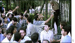 Student protests in Iran