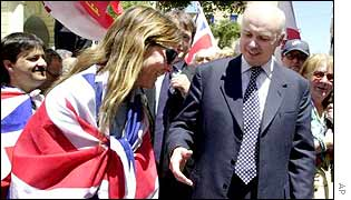 Iain Duncan Smith in Gibraltar