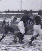 An early rugby league match