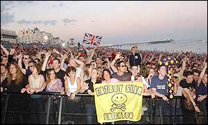 Fatboy Slim audience