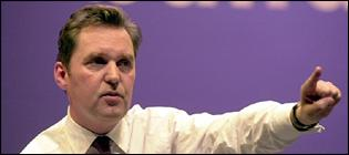 Alan Milburn MP, health secretary