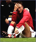 Beckham crying
