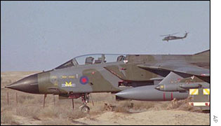 British Tornado jet in file photo