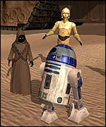 Star Wars: Galaxies screenshot, Lucas Arts