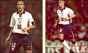 Ferdinand won his first England cap against Cameroon and has amassed 30 caps to date