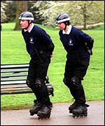 Royal Parks police in Kensington Gardens
