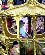 The Queen's jubilee carriage