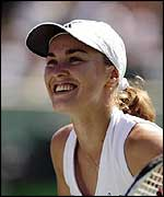 Martina Hingis has not won a Grand Slam since 1999.
