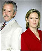 Jeremy Bowen and Sophie Raworth