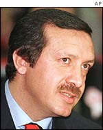 Recep Tayyip Erdogan, leader of AK Party