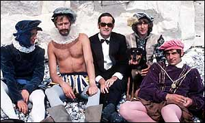 Michael Palin, Graham Chapman, John Cleese, Eric Idle and Terry Jones