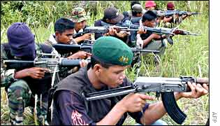 Aceh's Gam fighters