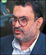 Saeed Hajjarian in a photograph from 2000