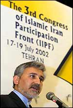 Secretary-General of the IIPF Mohamed Reza Khatami - brother of President Khatami