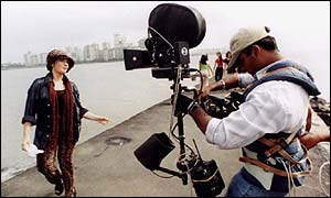 Bollywood shooting