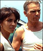 Billy Bob Thornton and Halle Berry in Monster's Ball