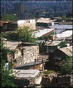 Shanty Housing in Yerevan, Armenia