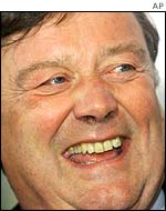 Former UK Chancellor Kenneth Clarke