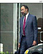 Richard Parsons, appointed CEO in April 2002
