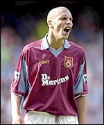 Rio Ferdinand in action for West Ham