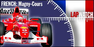 All the action from the French Grand Prix at Magny-Cours